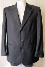 ***STEFANEL GIACCA Jacket TG.48 veste di più  Lana 100% Foderata  grigio-blu