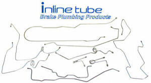1995-1999 Chevrolet GMC K3500 Long bed Dually Ext Cab Complete Brake Line Kit SS