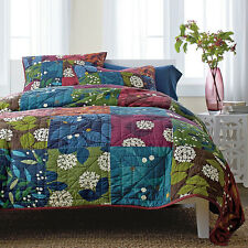 Artiz Home Sale Handmade Jane Quilt Set 3pcs Bedspread Shams Patchwork Crafts