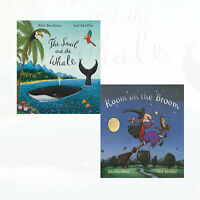 Room on the Broom Julia Donaldson Collection 2 Books Set Snail and the Whale New