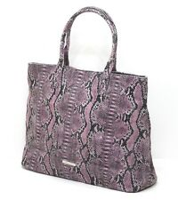 BCBGMAXAZRIA FAUX SNAKESKIN HANDBAG / SHOPPING / TOTE / SHOULDER BAG *NEW