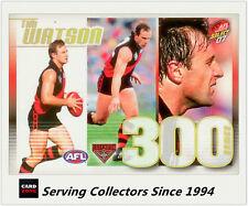 Select AFL 300 Game Case Card: 2007 Supreme CC21 Tim Watson (Essendon)