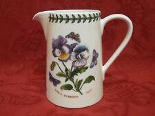 Portmeirion Botanic Garden 0.5 Pint Bella Milk Jug Pansy / Viola - BNWT