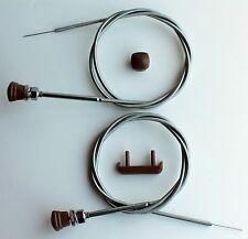 1940 1941 1946 Chevy TRUCK Choke Throttle Cable Headlight Knob,Ashtray Pull 4pc
