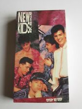 New Kids On The Block STEP BY STEP VHS (1990) NEW