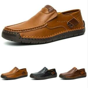 Mens Pumps Slip on Loafers Shoes Driving Moccasins Soft Comfy Breathable Flats L