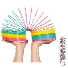 GIANT RAINBOW SPRINGY SLINKY RETRO FUN Toys gifts games & gadgets