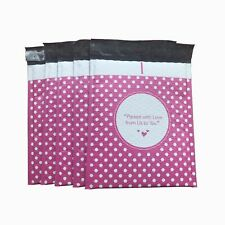 0 Pink Dot Packed With Love From Us To You Poly Bubble Mailers 65 X 10