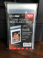 Ultra Pro One-Touch Resealable Bags 1 Pack of 100 for One-Touch Holders