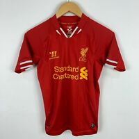 Liverpool Warrior Football Soccer Jersey Shirt Youth Medium Short Sleeve V-Neck