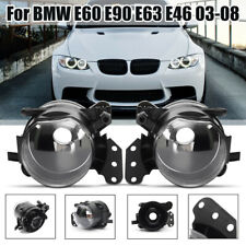 2x Front Bumper Fog Light Housing For BMW E46 E60 E63 E90 325i 525i X3 4-Door
