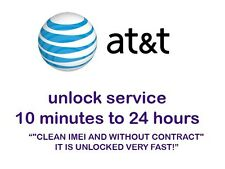 FACTORY UNLOCK PREMIUM SERVICE iPHONE AT&T 3G 4 4S 5 5S
