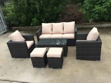Handmade Garden & Patio Furniture Sets with 6 Pieces