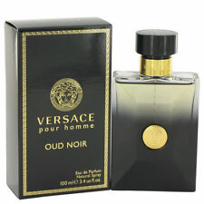 Versace Oud Noir Pour Homme Men 3.4 OZ 100 ML Eau De Parfum Spray Box Sealed