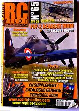 RC PILOTE n°65s du 4/2009; Plan Encarté Fokker DVII de F.Darras/ Tests P51 Dago