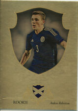 FUTERA 2016 ANDREW ROBERTSON LIVERPOOL 01/11 GOLD ROOKIE PARALLEL FOOTBALL CARD