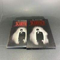SCARFACE (DVD) 2-Disc Set, Platinum Edition) Al Pacino 1983 Crime Drama. Violent