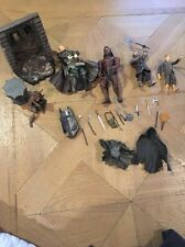 Lot Of Marvel Lord Of The Ring Figures Weapons Accessories From 2001-2003