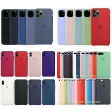 OEM Silicone Original Case Cover For iPhone 5 6 6S 7 8 Plus XR XS X 11 Pro Max