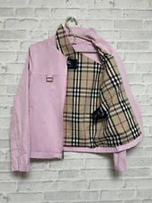 Burberry Women's Pink  Jacket Made in USA Size 2