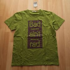 NEU Nudie Jeans, ROUNDNECK T-Shirt Tee Anders Bad Aint Rad Pea M