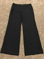 Ann Taylor Loft Womens Size 8P Kate Style Black Dress Pants A31