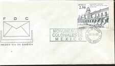 J) 1980 Mexico, Colonial Monuments, Temple And Ex-Convent Of Santa Catarina Patz