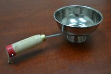 INCENSE BURNER FOOD WARMER BOWL PAN WITH HANDLER #8059