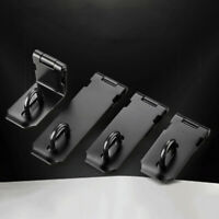 3/4/5 Inch Padlock Hasp and Staple Set Stainless Steel Door Gate Lock Latch Shed