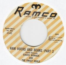 "Chuck Womack & The Sweet Souls ""Ham Hocks And Beans"" Part 1&2 Ramco 2010 45 RPM"