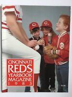 Cincinnati Reds 1983 Yearbook Magazine JOHNNY BENCH last year super nice!