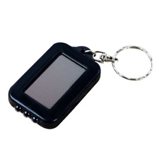 Portable Solar Panel 3 LED Flashlight Light Torch Keyring Key Ring Mini Camping