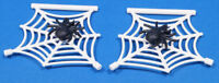 LEGO - 2 x Spinne schwarz mit 2 x Spinnennetz weiss / 30238 90981 NEUWARE