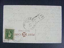 Midvale Nebraska NE 1913 Type 2/1 Doane Cancel Postmark Postcard DPO 1885-1922