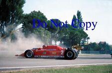 Gilles Villeneuve Ferrari 312 T5 Italian Grand Prix 1980 Photograph 1
