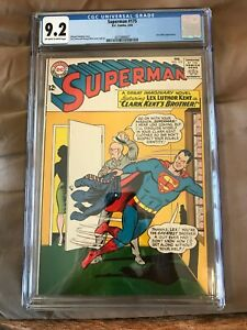 1965 DC Comics Superman #175 CGC graded 9.2