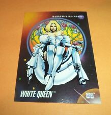 White Queen # 123 - 1992 Marvel Universe Series 3 Base Impel Trading Card