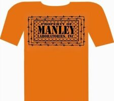 Manley Laboratories T-Shirt PROPERTY OF MANLEY Short Sleeve Small