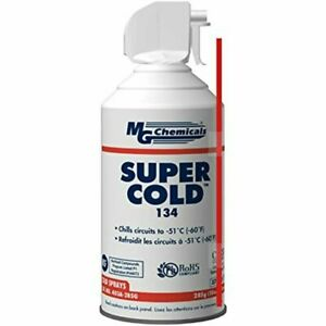 403A 134A Super Cold Spray 285G 10 OZ Aerosol Can Ounces MG Chemicals