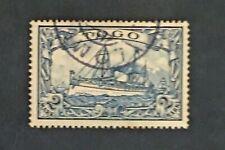 Briefmarke Togo Kolonie Deutsche Yvert Und Tellier N°17 Gestempelt (Cyn36)
