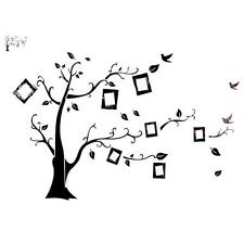 Tree Bird Photo Frame Removable Memory Wall Stickers Decal Home Decor YG