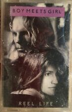 BRAND NEW Boy Meets Girl Reel Life Cassette Tape Inc. Waiting For A Star To Fall