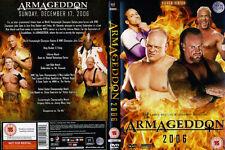 Official WWE Armageddon 2006 DVD 2 Disc
