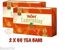 BOH Plantation CAMERONIAN GOLD BLEND ORIGNAL TEA COMBO PACK 2 X 60 TEA BAGS