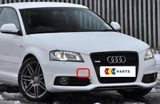 Audi A3 8P 08-12 neuf origine avant s-line pare-chocs tow crochet couvercle bouchon 8P0807241C