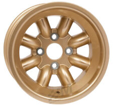 Revolution 8 Spoke Rally Alloy Wheel 9 x 13 - ET-12 Gold Group4 Fitting Escort
