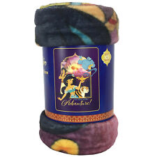 "New Walt Disney Aladdin Princess Jasmine Super Plush Soft Throw Blanket 46""x60"""