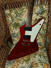 New ListingHamer Electric Guitar - Made-In-China Explorer Trans Red.