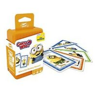 Shuffle Guess Who Minions Card Game. Family Kids Fun Learning Game