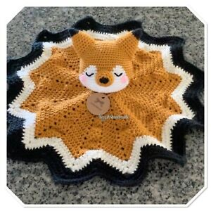 Handmade Crocheted Lovey For Babies And Toddlers